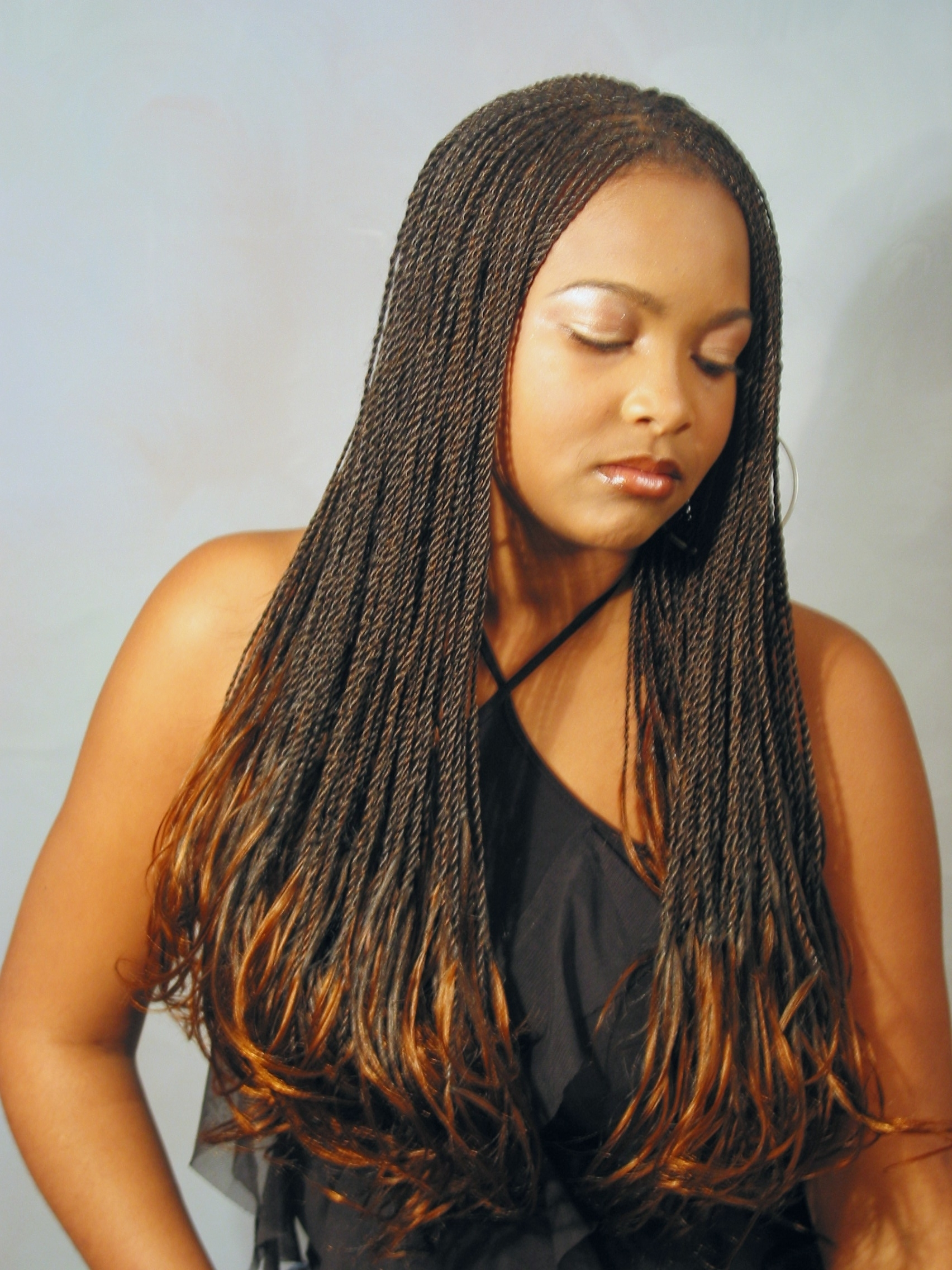 Braiding In Maryland In Current Black Layered Senegalese Twists Pony Hairstyles (View 4 of 20)