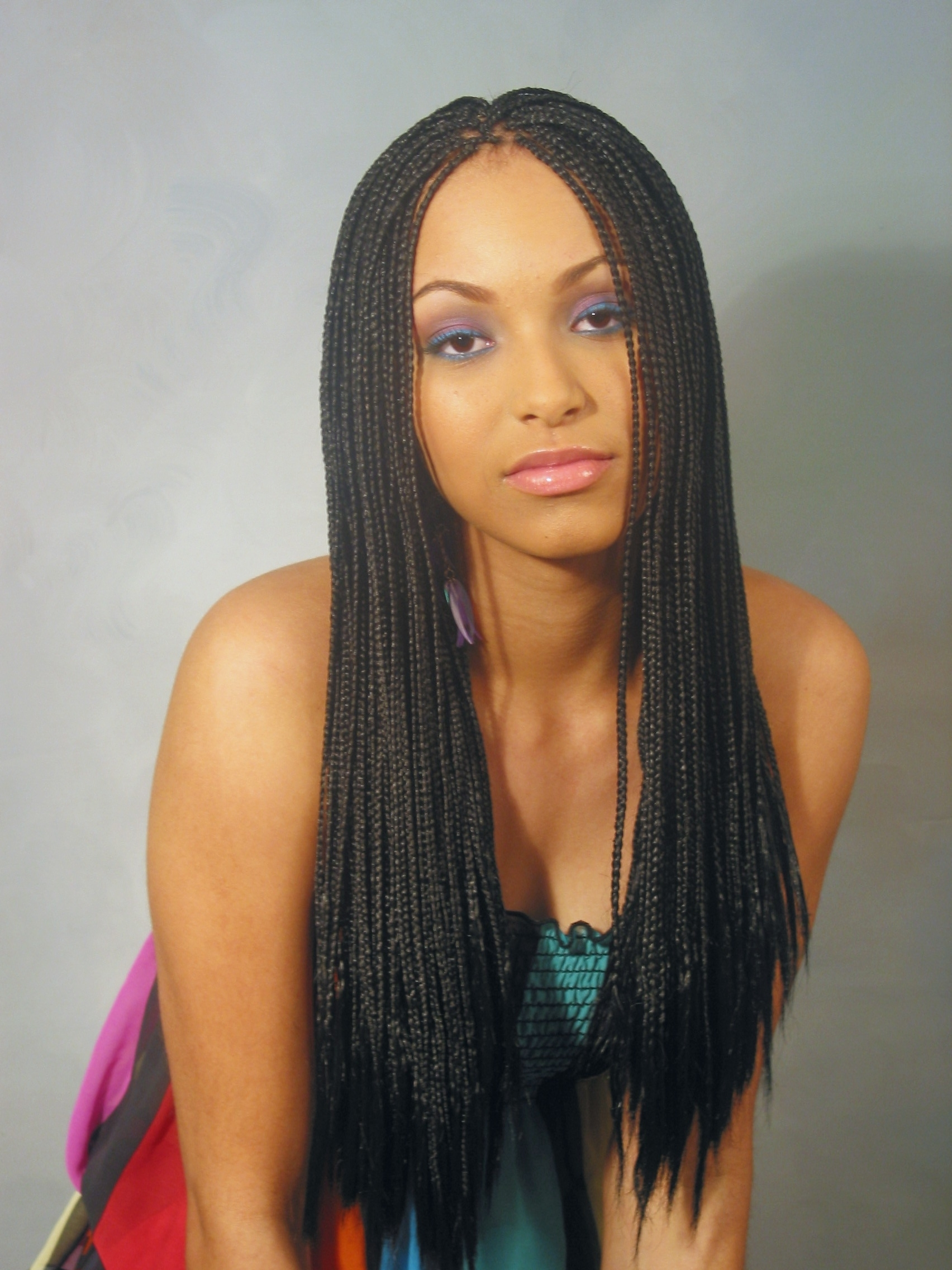 Braiding In Maryland Intended For Current Black Layered Senegalese Twists Pony Hairstyles (View 5 of 20)