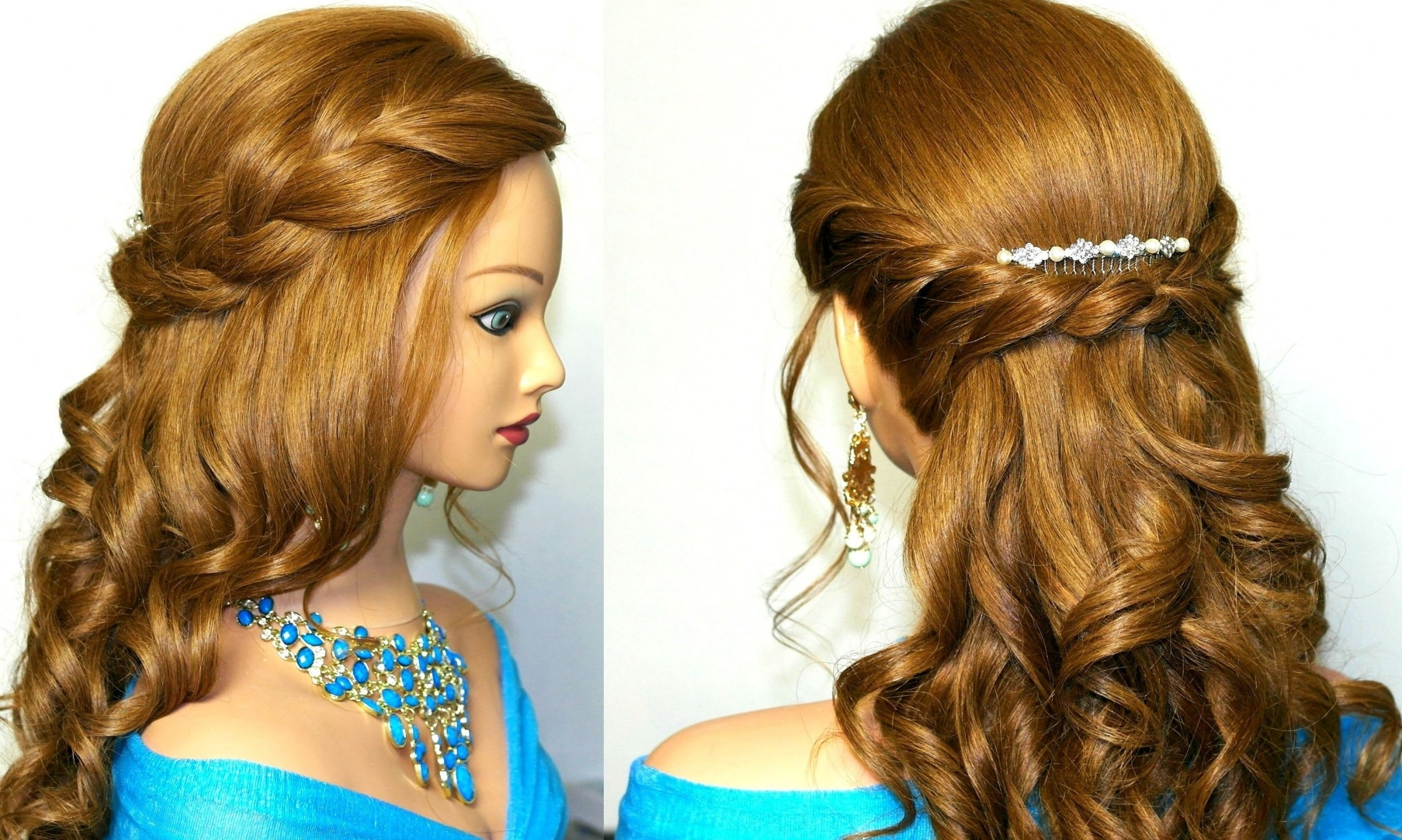 Braids And Curls Hairstyles (View 6 of 20)