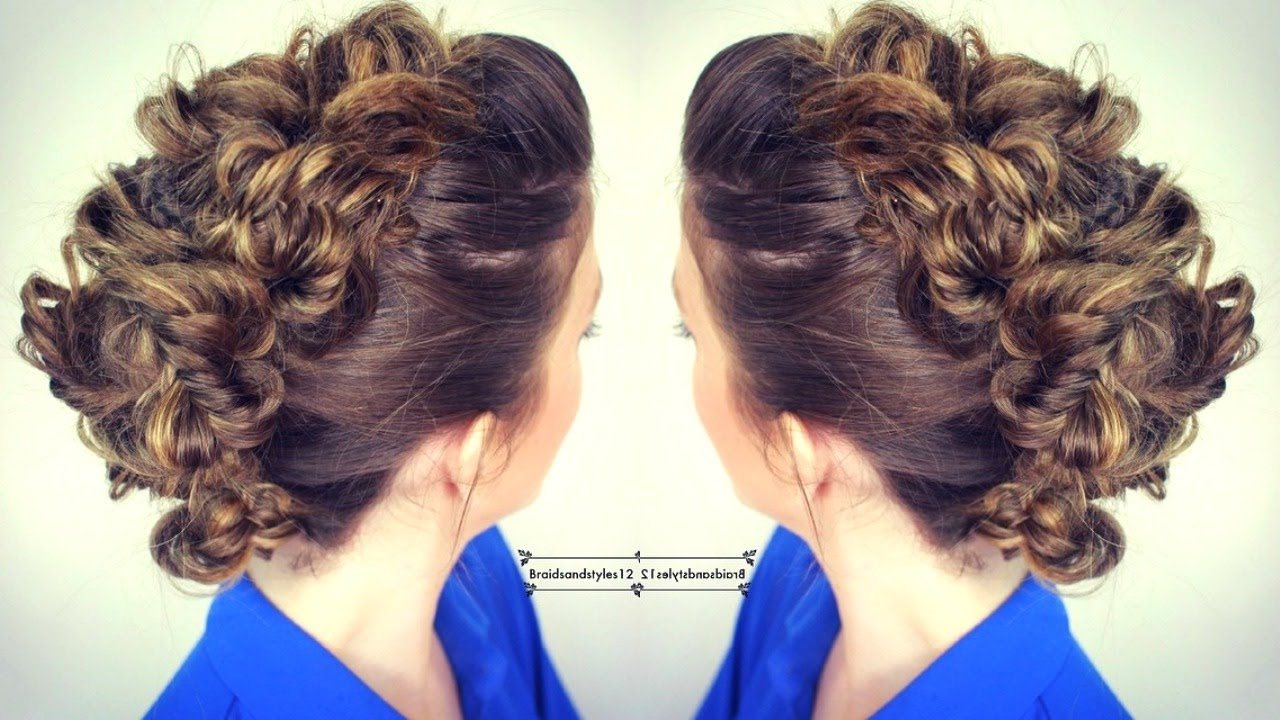 Braidsandstyles12 – Youtube Throughout Most Popular Undone Fishtail Mohawk Hairstyles (View 3 of 20)