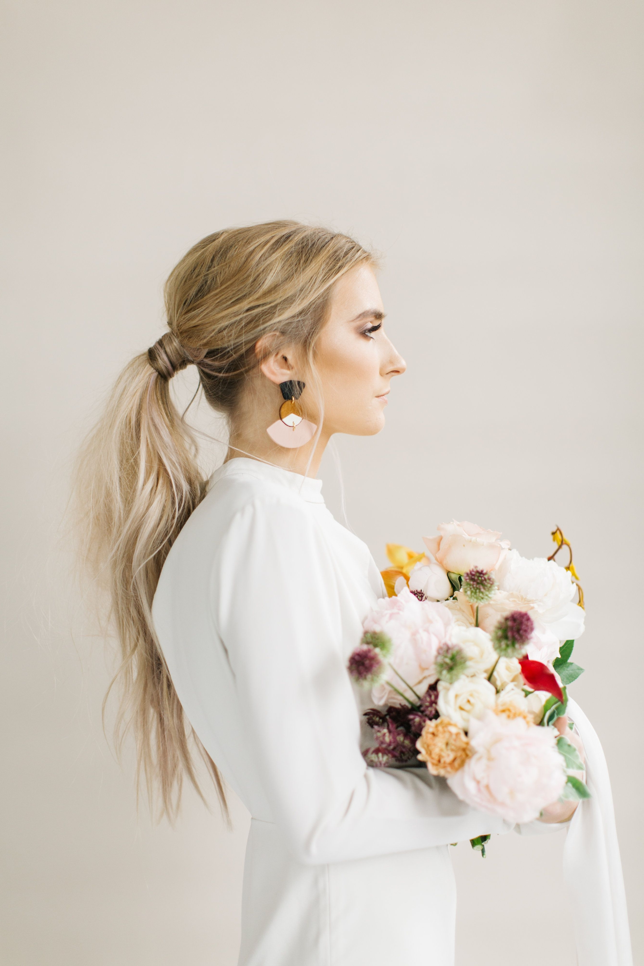 Bride Pertaining To Most Recently Released Fabulous Bridal Pony Hairstyles (View 14 of 20)