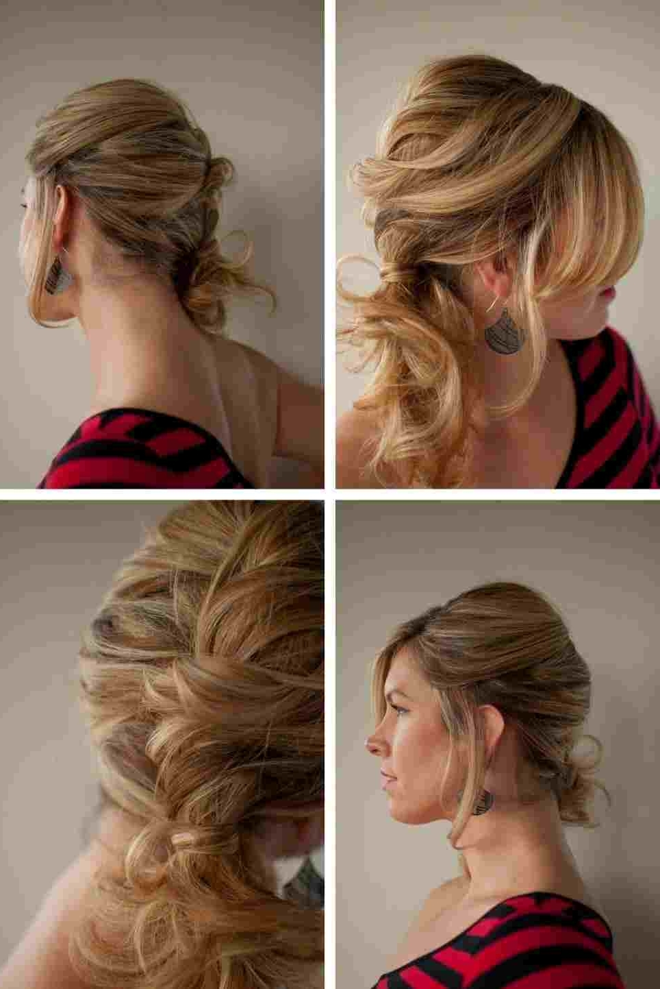 Bridesmaid Hairstyles Side Ponytail With Braid (Gallery 10 of 20)