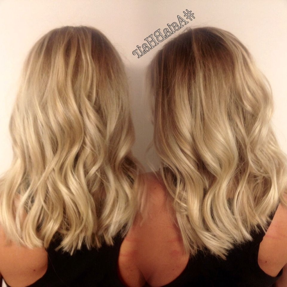 Bright Blonde Balayage Highlights + Long Bob Haircut – #asiabhair In Most Current Bright Long Bob Blonde Hairstyles (View 9 of 20)