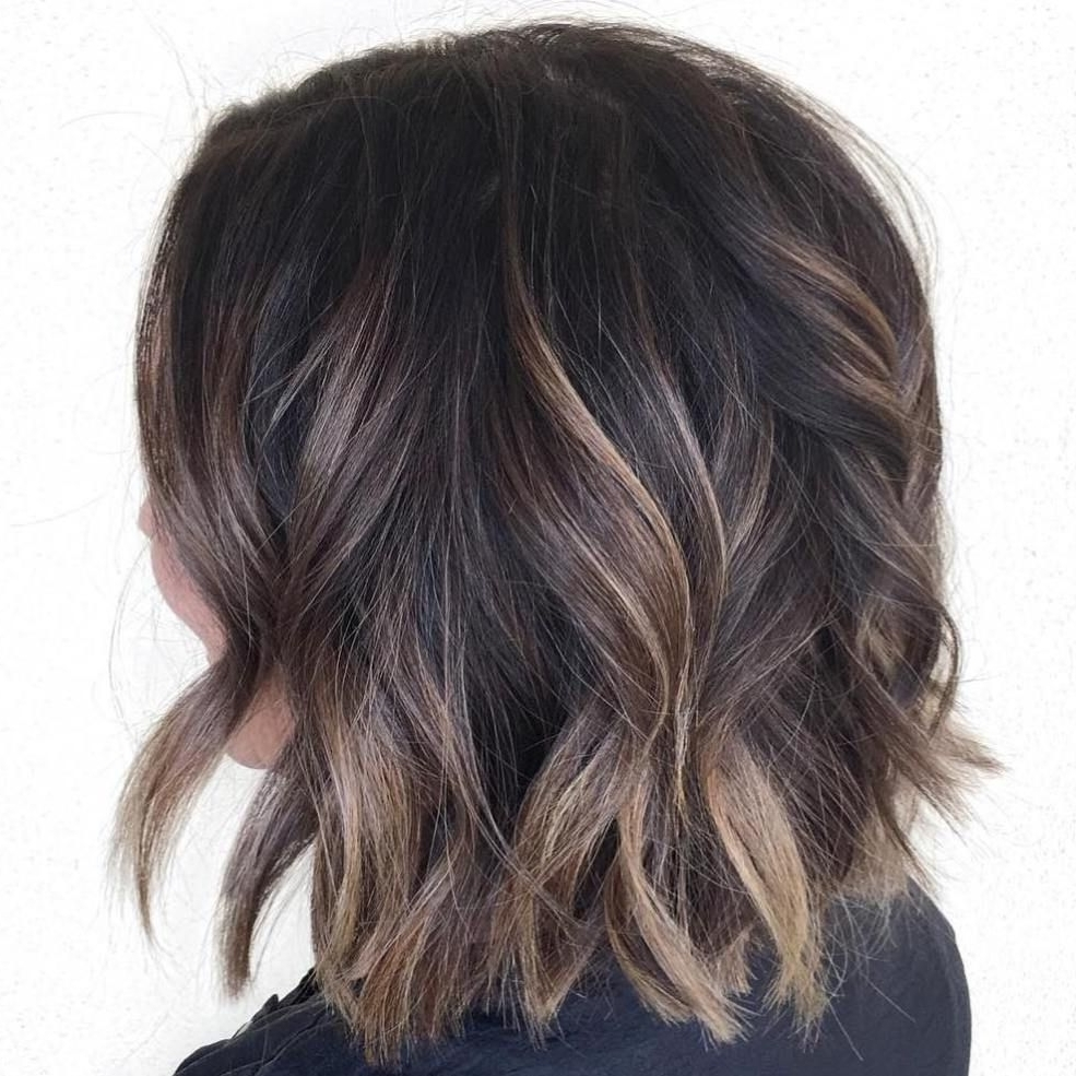 Brown Regarding Latest Balayage Pixie Hairstyles With Tiered Layers (View 15 of 20)