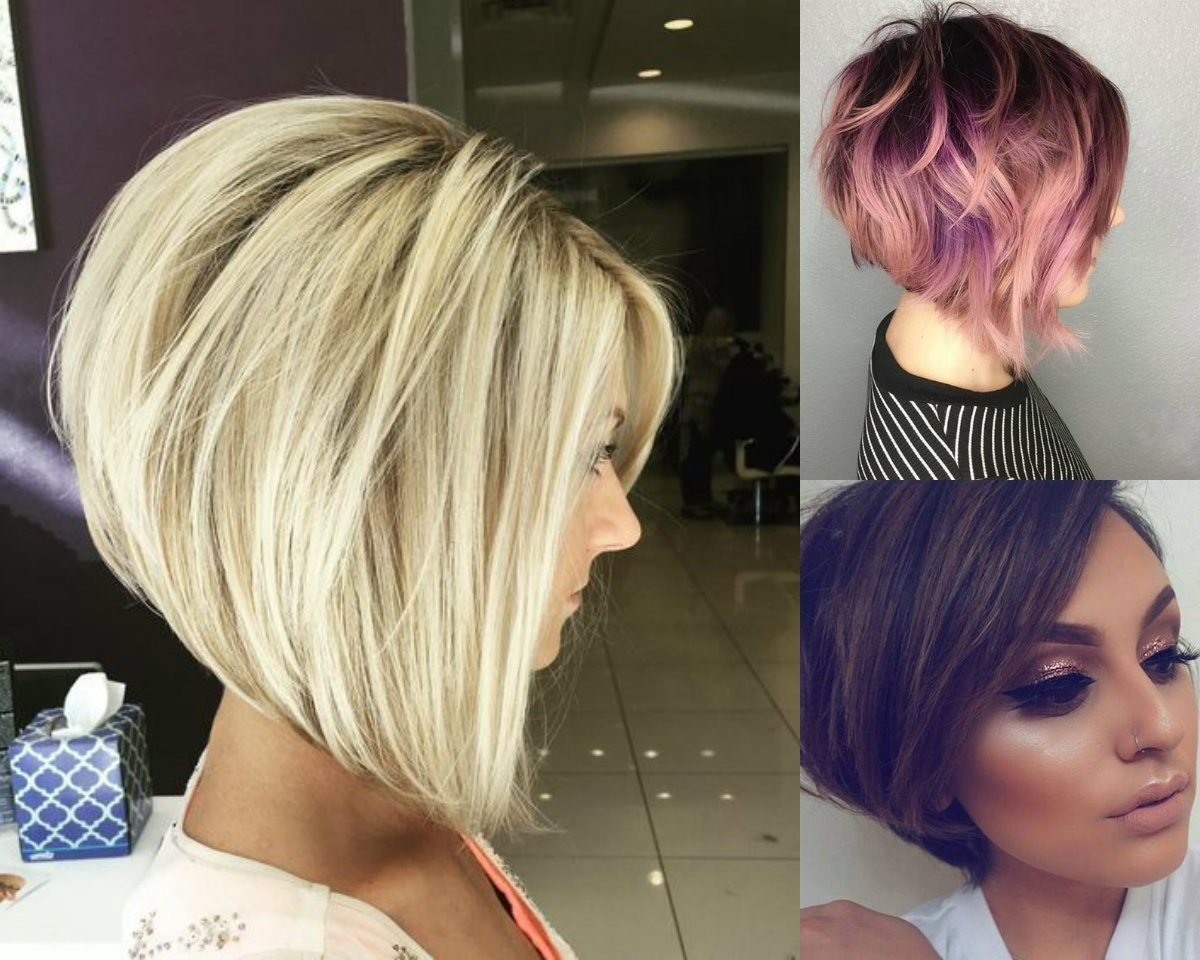 Business Style Stacked Bob Hairstyles (View 2 of 20)