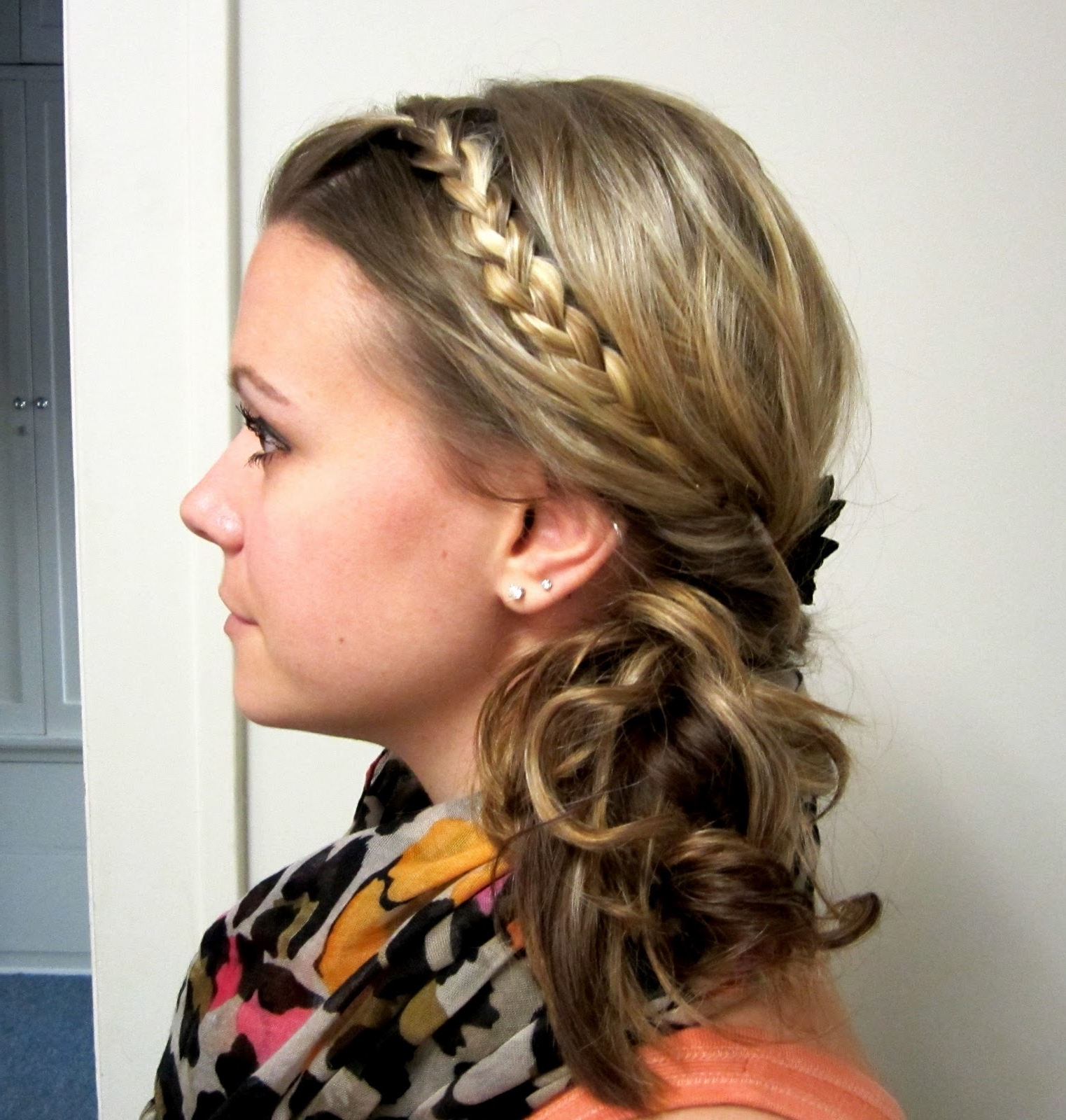 Bye Bye Beehive │ A Hairstyle Blog: Braided Side Topsy Tail (View 15 of 20)