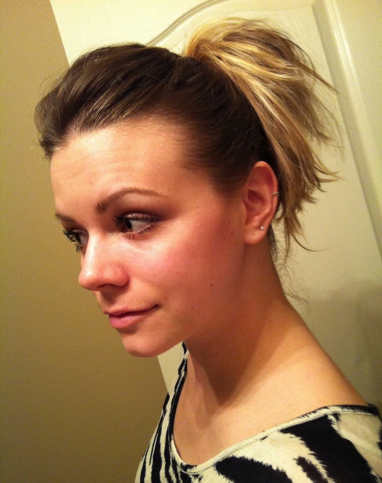 Bye Bye Beehive │ A Hairstyle Blog: How To Poof A Ponytail Without In Most Up To Date Updo Ponytail Hairstyles With Poof (View 10 of 20)