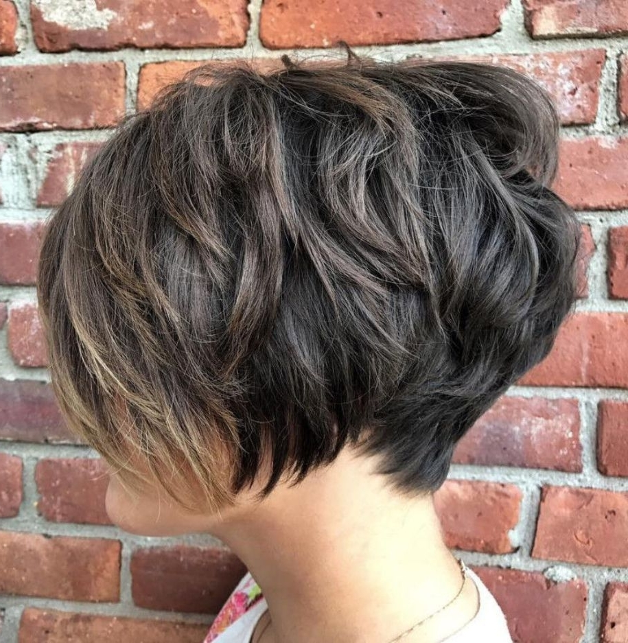 Featured Photo of Piece Y Pixie Haircuts With Subtle Balayage
