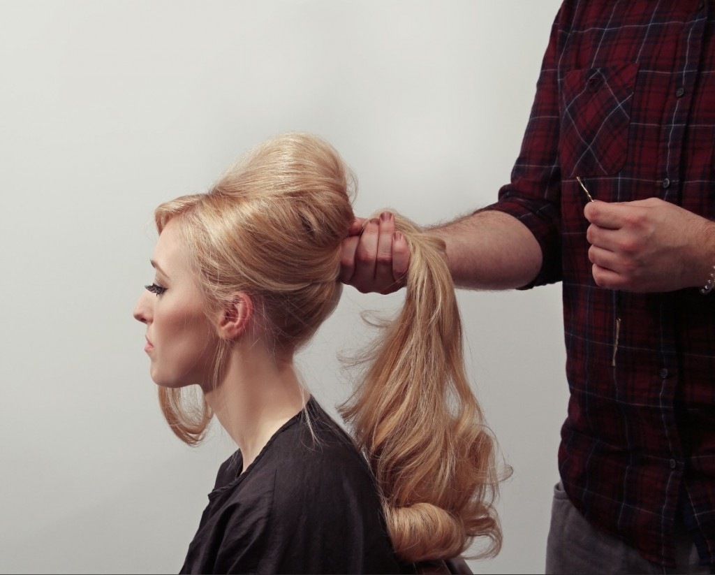 Christmas Party Hair: The Bardot Ponytail (View 5 of 20)