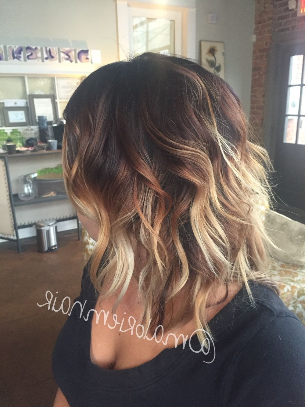 Color Melt Ombre Balayage Hair (View 11 of 20)