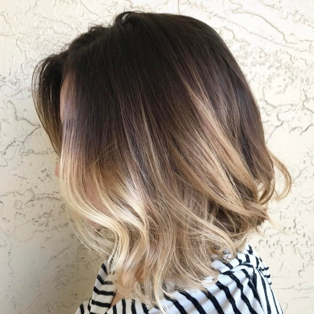 Cool 50 Mesmerizing Ways Of Wearing Balayage Short Hair – Try It Within Current Piece Y Pixie Haircuts With Subtle Balayage (View 4 of 20)