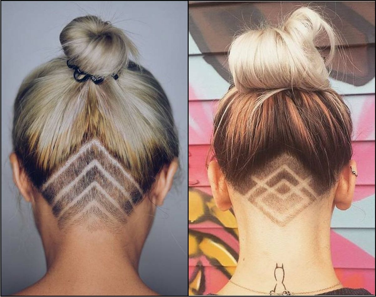 Cool Undercut Female Hairstyles To Show Off (View 7 of 20)