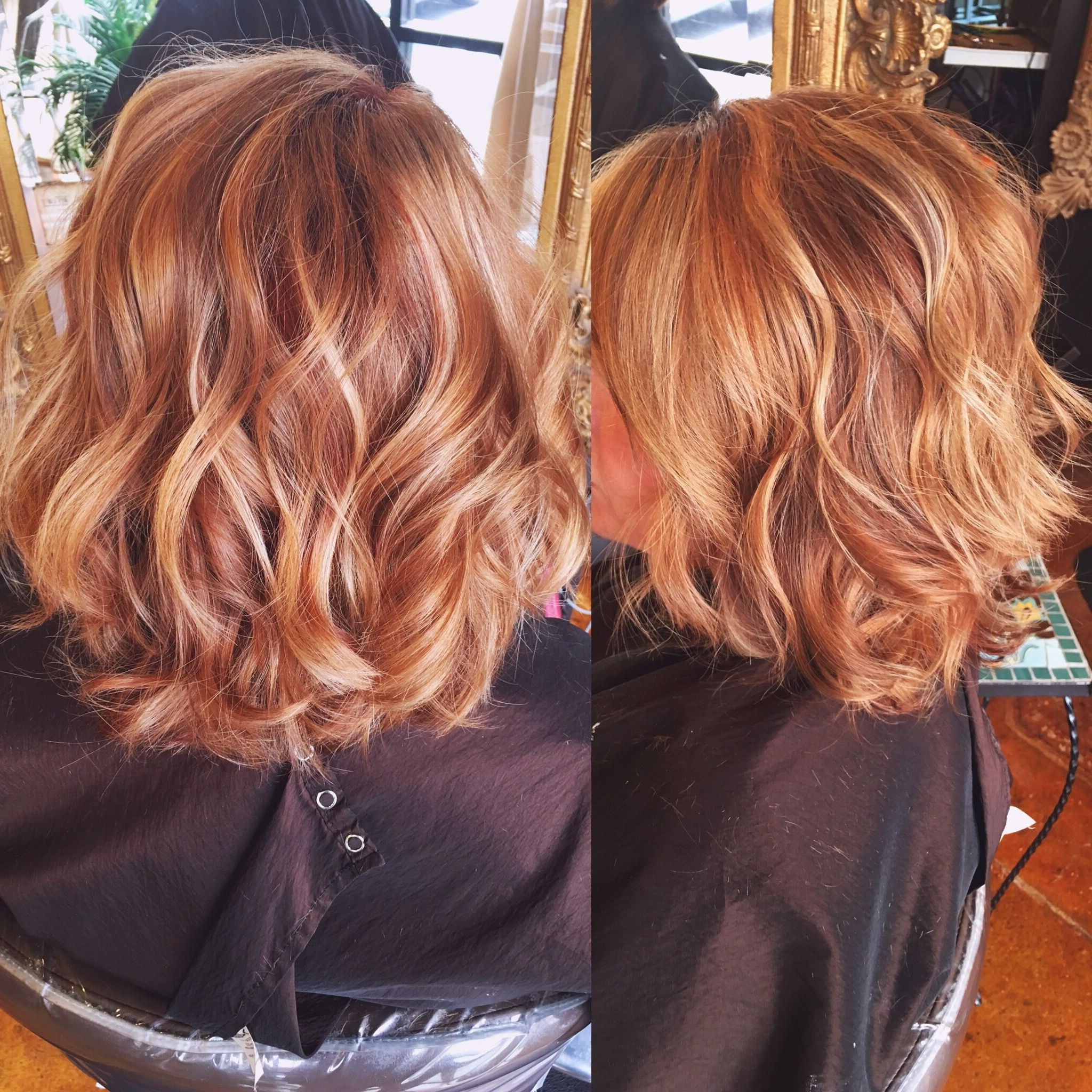 Featured Photo of Light Copper Hairstyles With Blonde Babylights