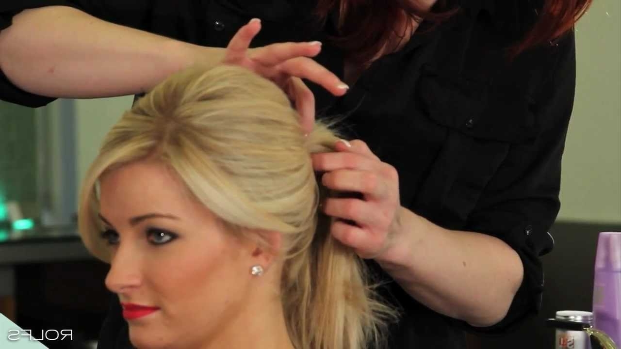 Create The Perfect High Volume Ponytail In 7 Easy Steps – Youtube With Regard To Trendy Updo Ponytail Hairstyles With Poof (View 5 of 20)