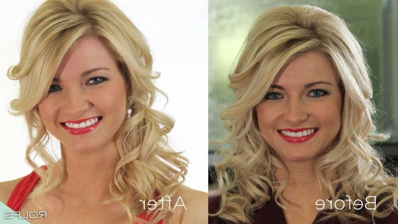Create The Perfect Low Side Ponytail In 5 Easy Steps – Youtube With 2018 Side Swept Pony Hairstyles (View 4 of 20)