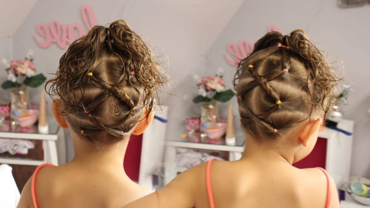 Criss Cross Ponytails (View 8 of 20)