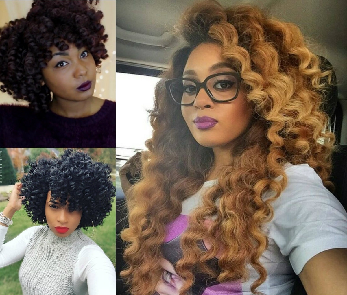 Crochet Braids Hairstyles For Lovely Curly Look (View 4 of 20)