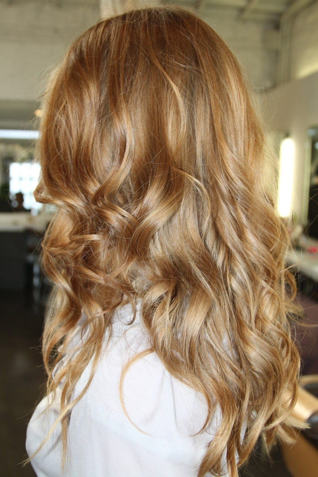 Crown Of Glory Throughout Most Current Subtle Blonde Ombre (View 4 of 20)