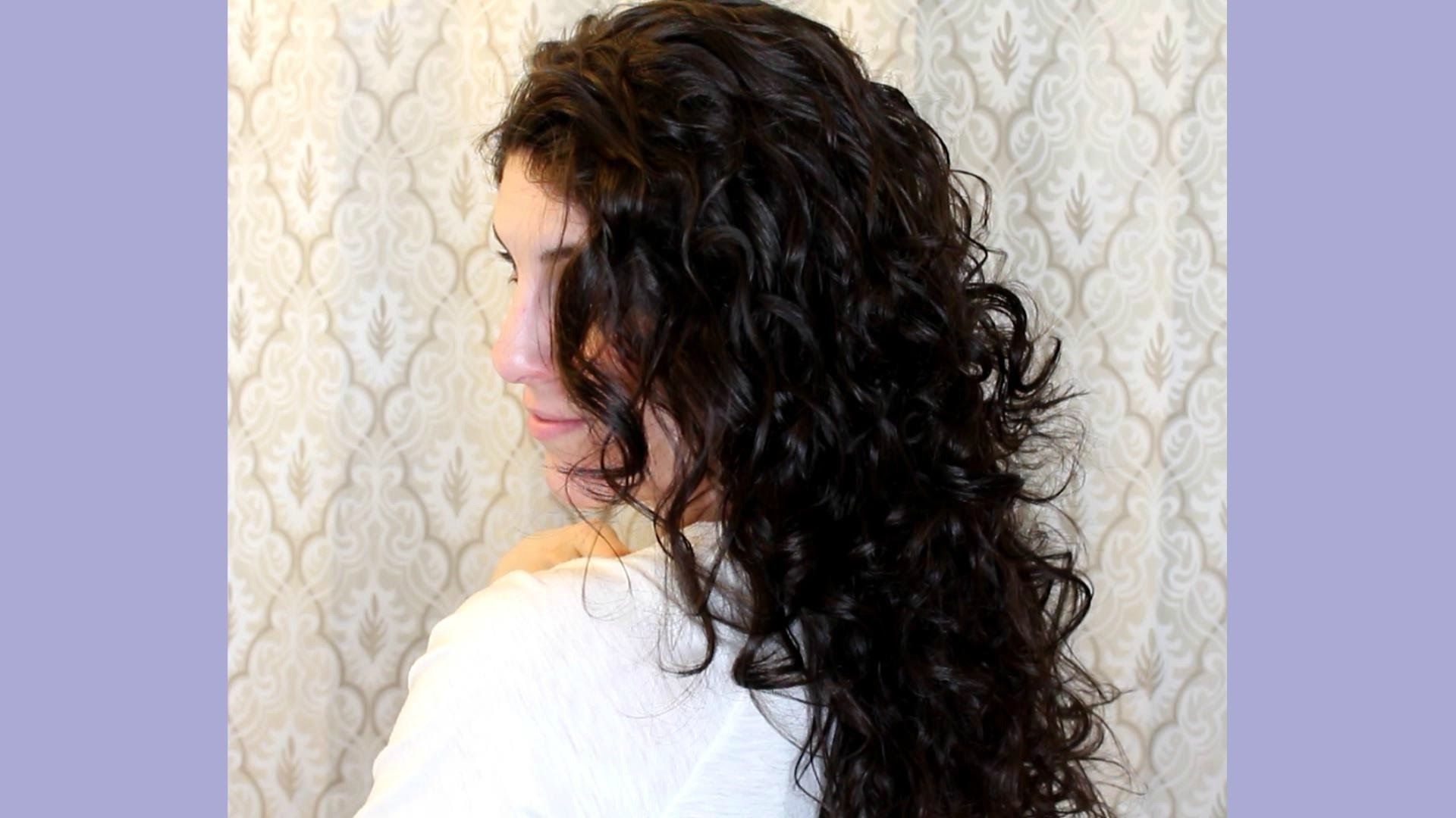 Curly Hair Routine (View 4 of 20)