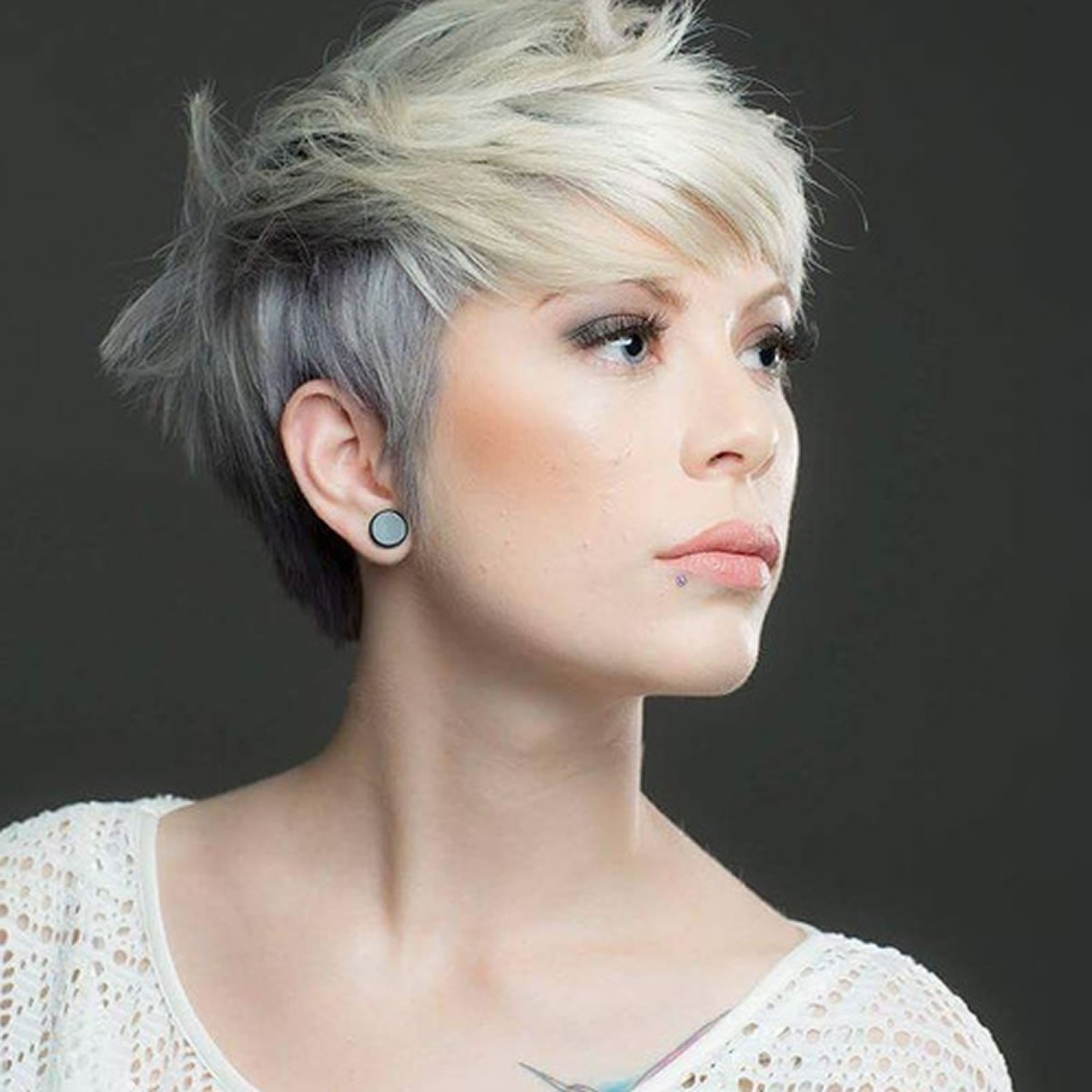 Current African American Messy Ashy Pixie Hairstyles Pertaining To The Best Hair Colors For Women With Short Pixie Haircut 2019 – Page (View 8 of 20)