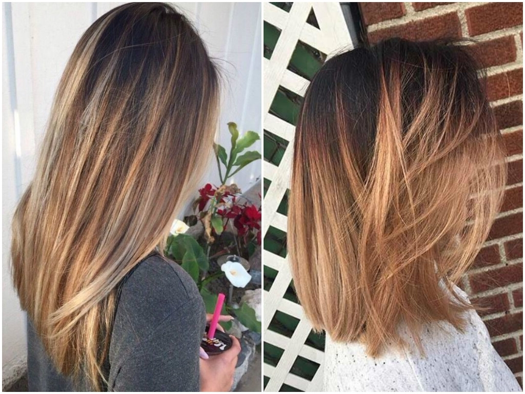 Current Balayage Pixie Hairstyles With Tiered Layers Intended For Balayage On Straight Hair (View 10 of 20)