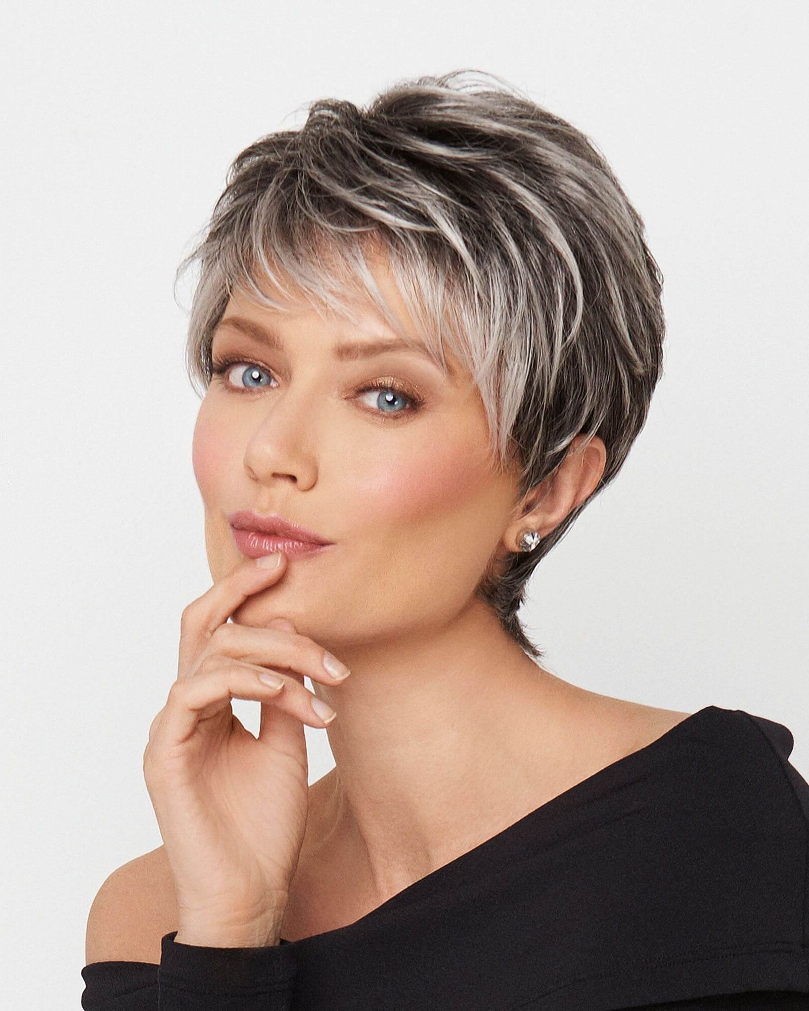 Current Blonde Pixie Hairstyles With Short Angled Layers Intended For 50 Pixie Haircuts You'll See Trending In (View 8 of 20)