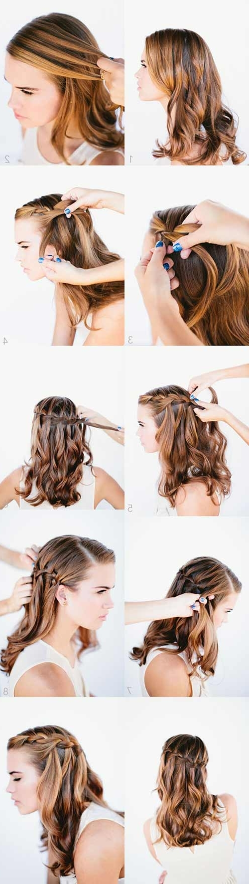 Current Botticelli Ponytail Hairstyles Intended For 20 Amazing Hairstyles For Curly Hair For Girls (View 2 of 20)