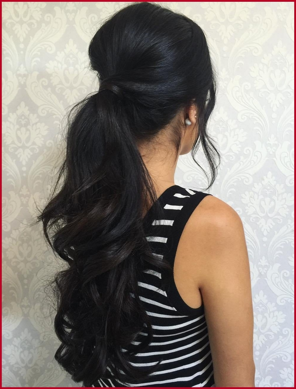 Current Bouffant Ponytail Hairstyles With Regard To Curly Ponytail Hairstyles 13009 30 Eye Catching Ways To Style Curly (View 7 of 20)