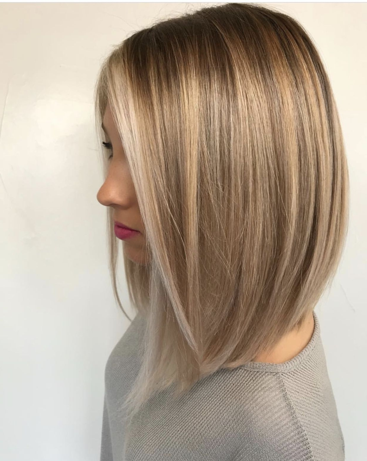 Current Cream Colored Bob Blonde Hairstyles Intended For Long Bob Haircut, Blonde Hair Color, Dirty Blonde Color, Stylish (View 4 of 20)