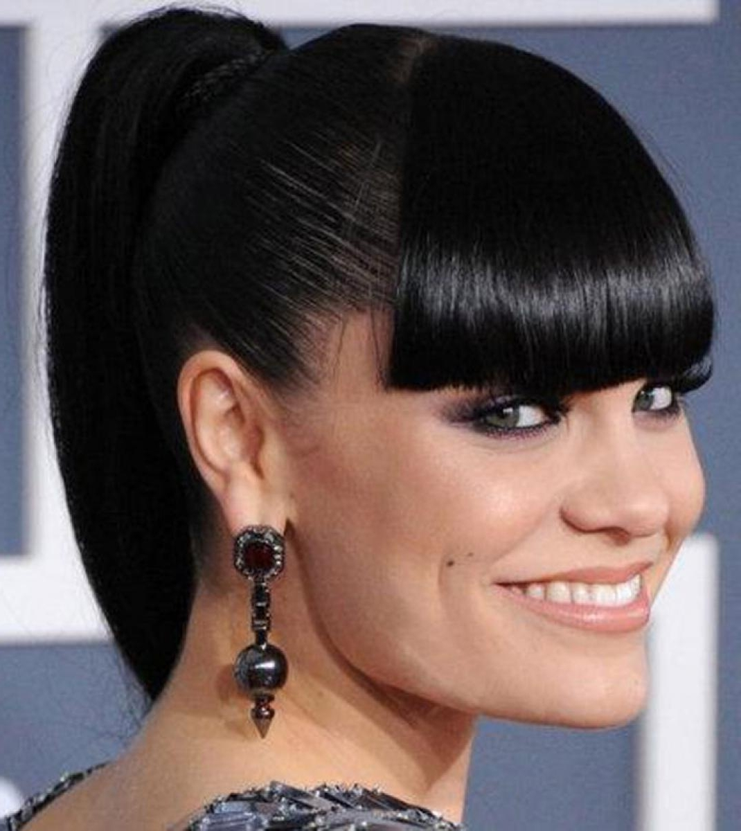 Current Low Black Ponytail Hairstyles With Bangs For Awesome Drawstring Ponytail Hairstyles For Black Hair – Hairstyles Ideas (View 12 of 20)