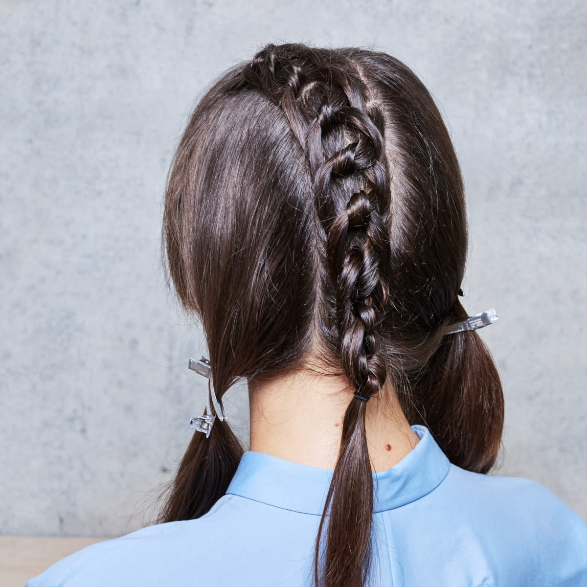 Current Macrame Braid Hairstyles In Pont Smith Challenges Classic Party Season Hair With 'macramé' Style (View 8 of 20)