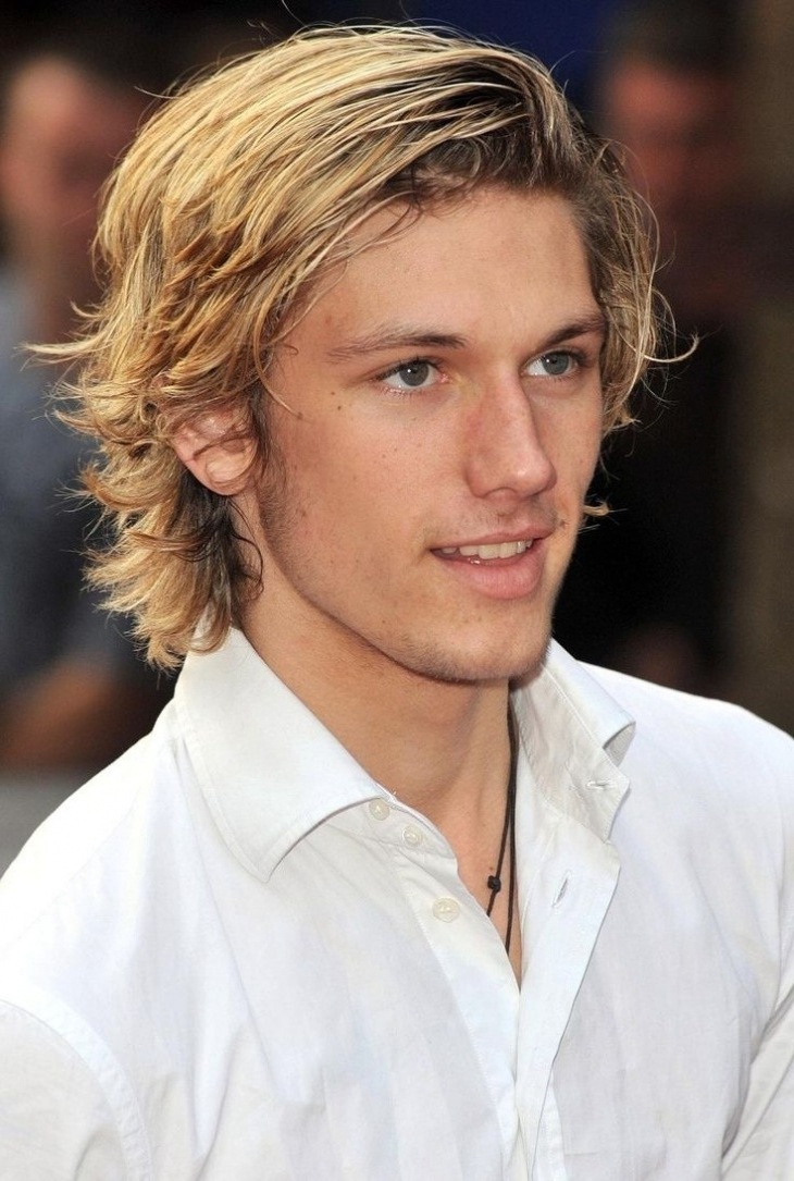 Current Shaggy Fade Blonde Hairstyles With Regard To 21 + Blonde Hairstyles For Men That Every Modern Men Will Love To Try (View 10 of 20)