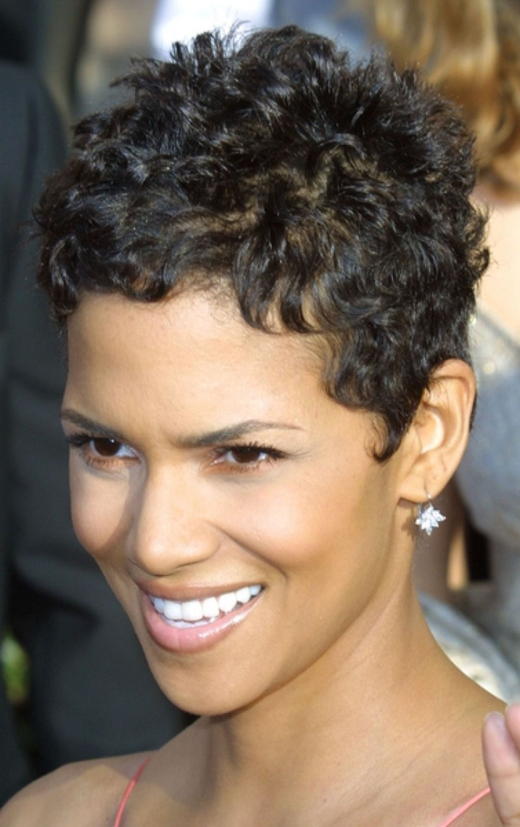 Current Short Black Pixie Hairstyles For Curly Hair Intended For Short Pixie Hairstyles For Black Women (View 3 of 20)