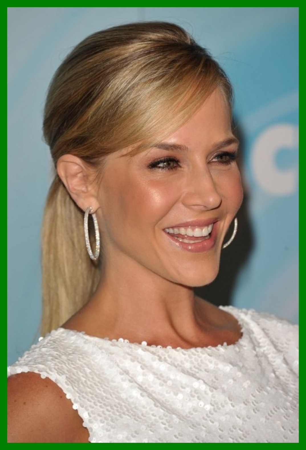 Current Side Swept Pony Hairstyles With Regard To Stunning Sleek Ponytail With Side Swept Bangs Hair Ref Of Formal (View 6 of 20)