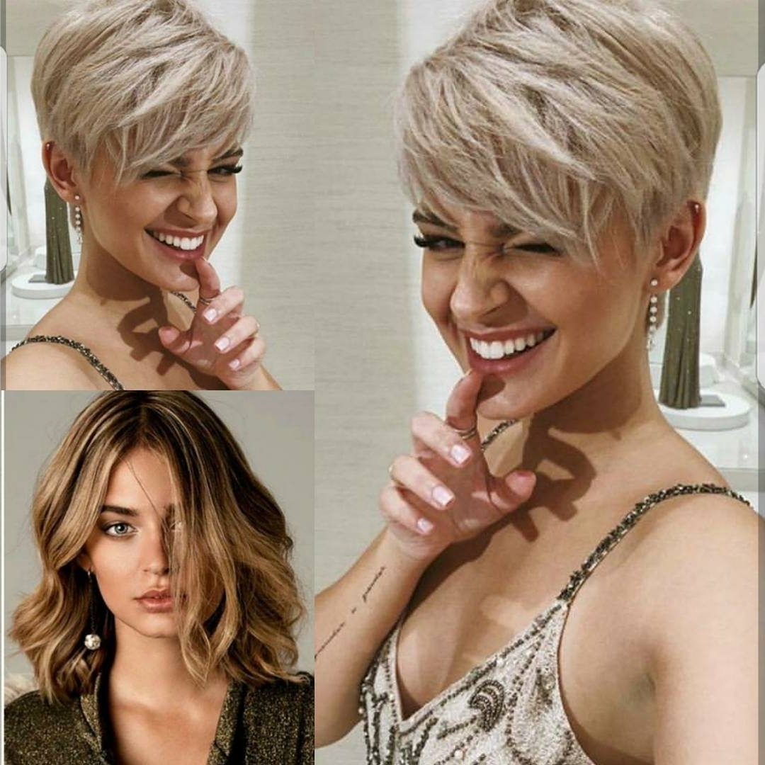 Current Silver And Brown Pixie Hairstyles Inside 10 Easy Pixie Haircut Styles & Color Ideas, 2018 Women Short Hairstyles (View 13 of 20)