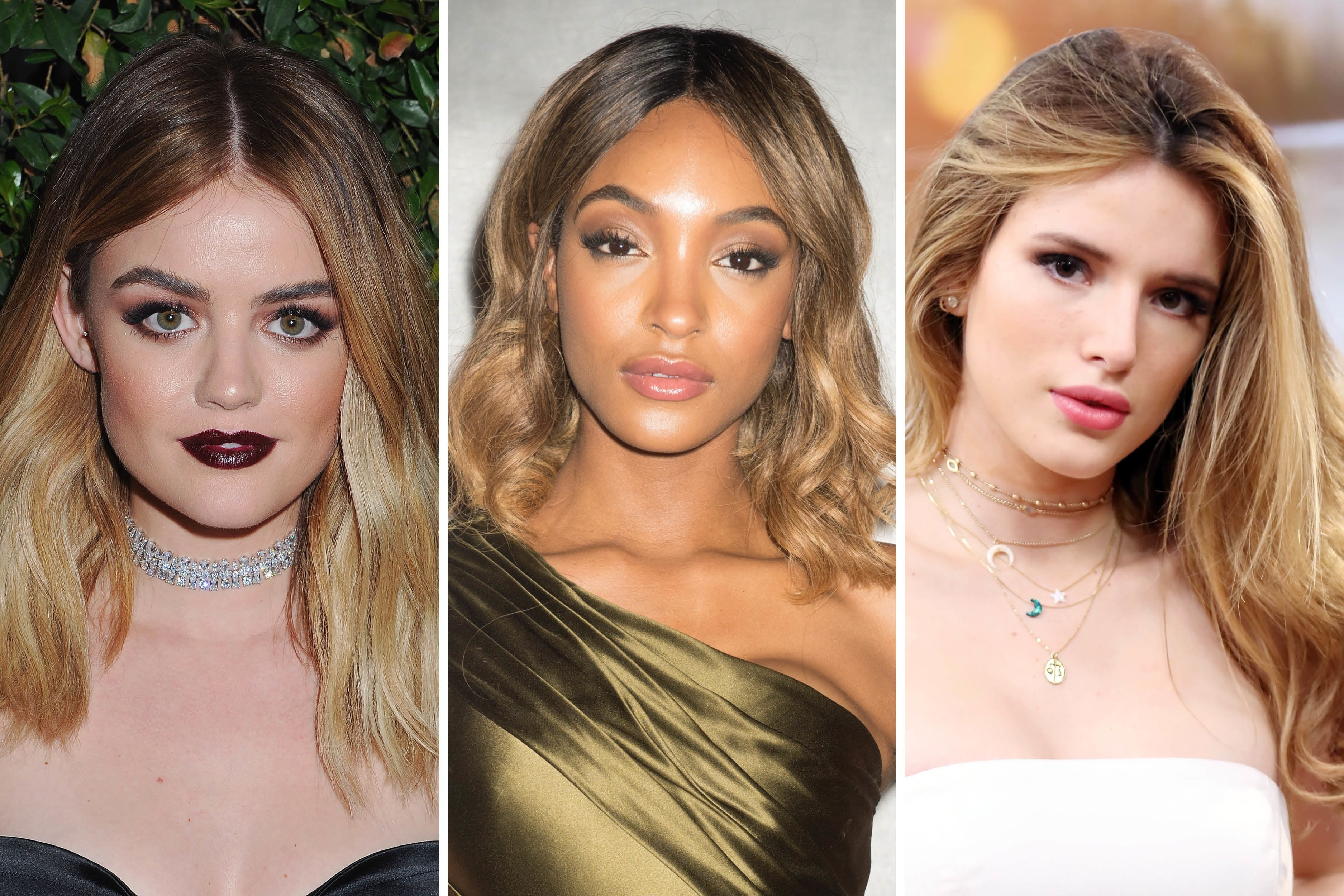 Current Sleek Blonde Hairstyles With Grown Out Roots With Best Celebrity Hair Color Ideas For Growing Out Your Roots (View 17 of 20)