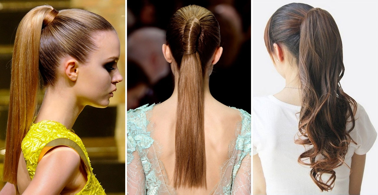 Cute & Adorable Ponytail Ideas For Long Hair – Hairtrade Blog Pertaining To Newest Ponytail Hairstyles For Fine Hair (View 6 of 20)