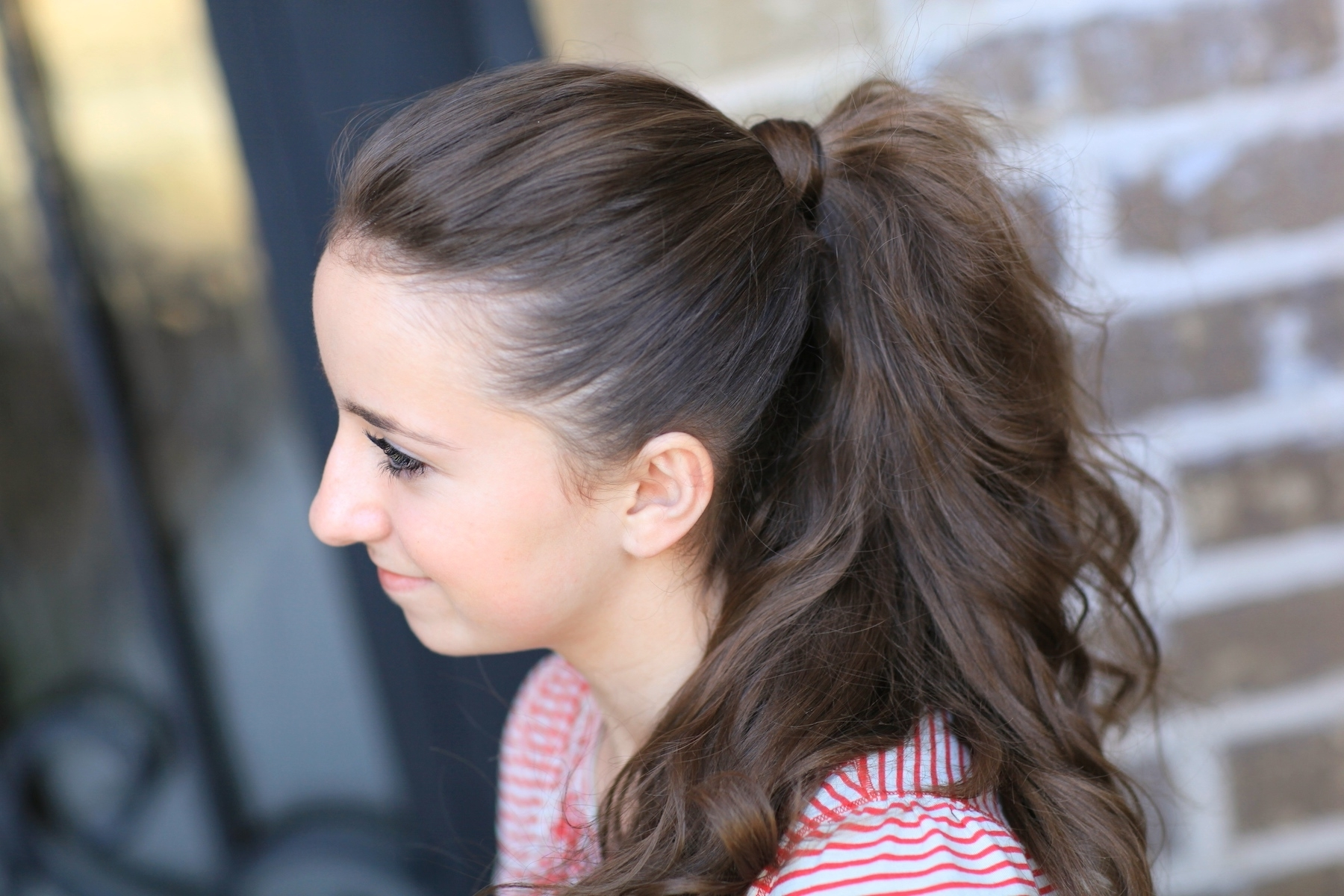 Cute Girls Hairstyles For Well Known Updo Ponytail Hairstyles With Poof (View 7 of 20)