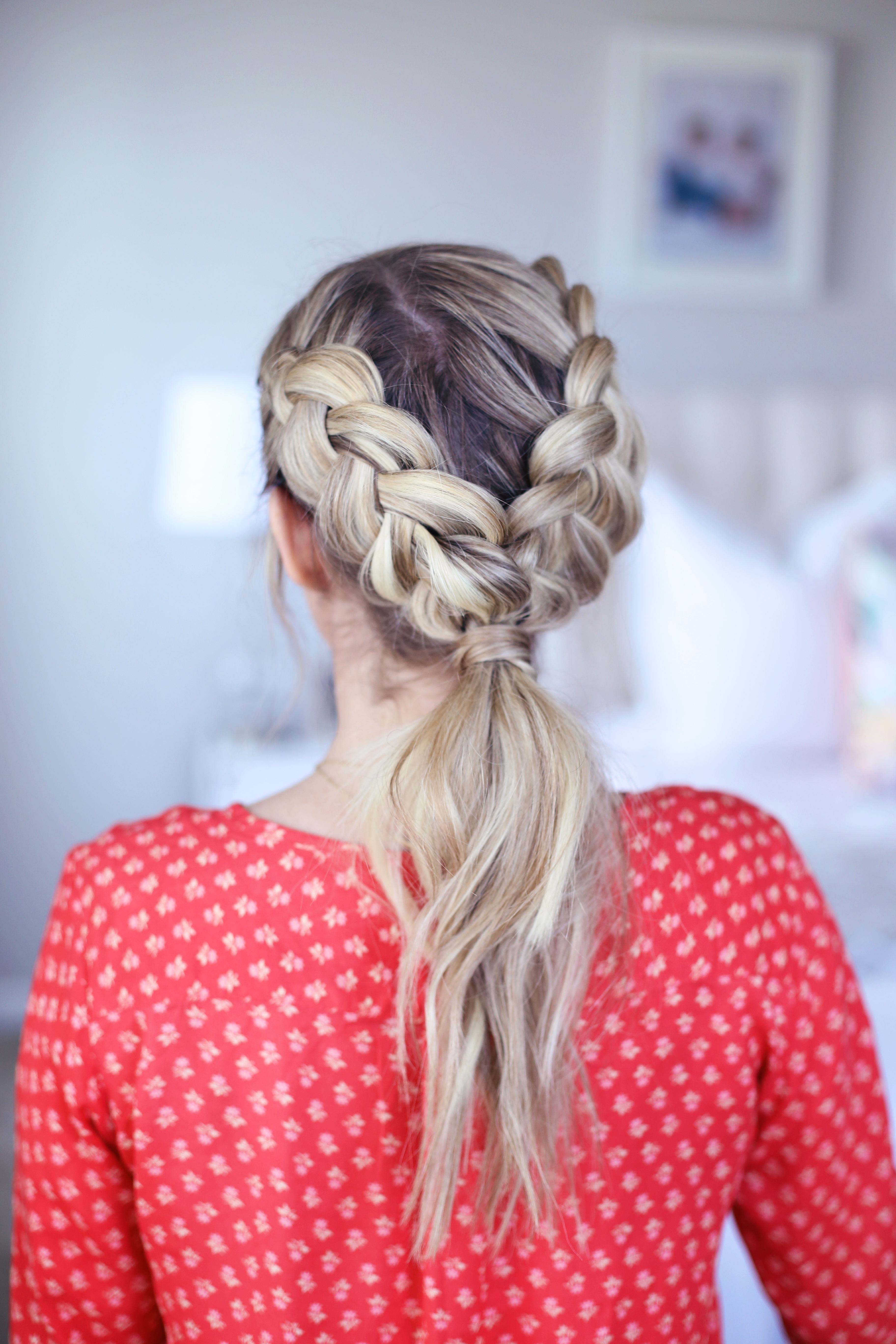 Cute Girls Hairstyles Pertaining To Most Recently Released Dutch Braid Pony Hairstyles (View 4 of 20)