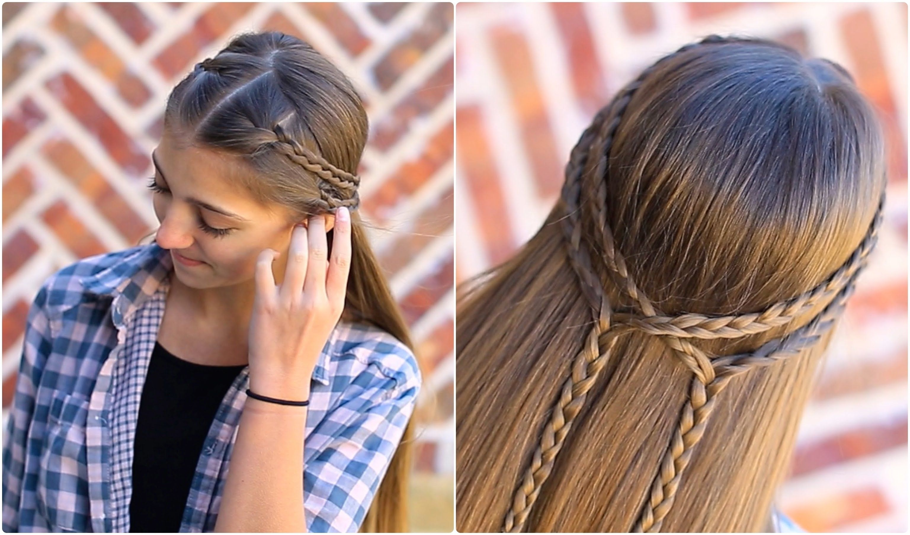 Cute Girls Hairstyles With Regard To Fashionable Double Braided Hairstyles (View 6 of 20)
