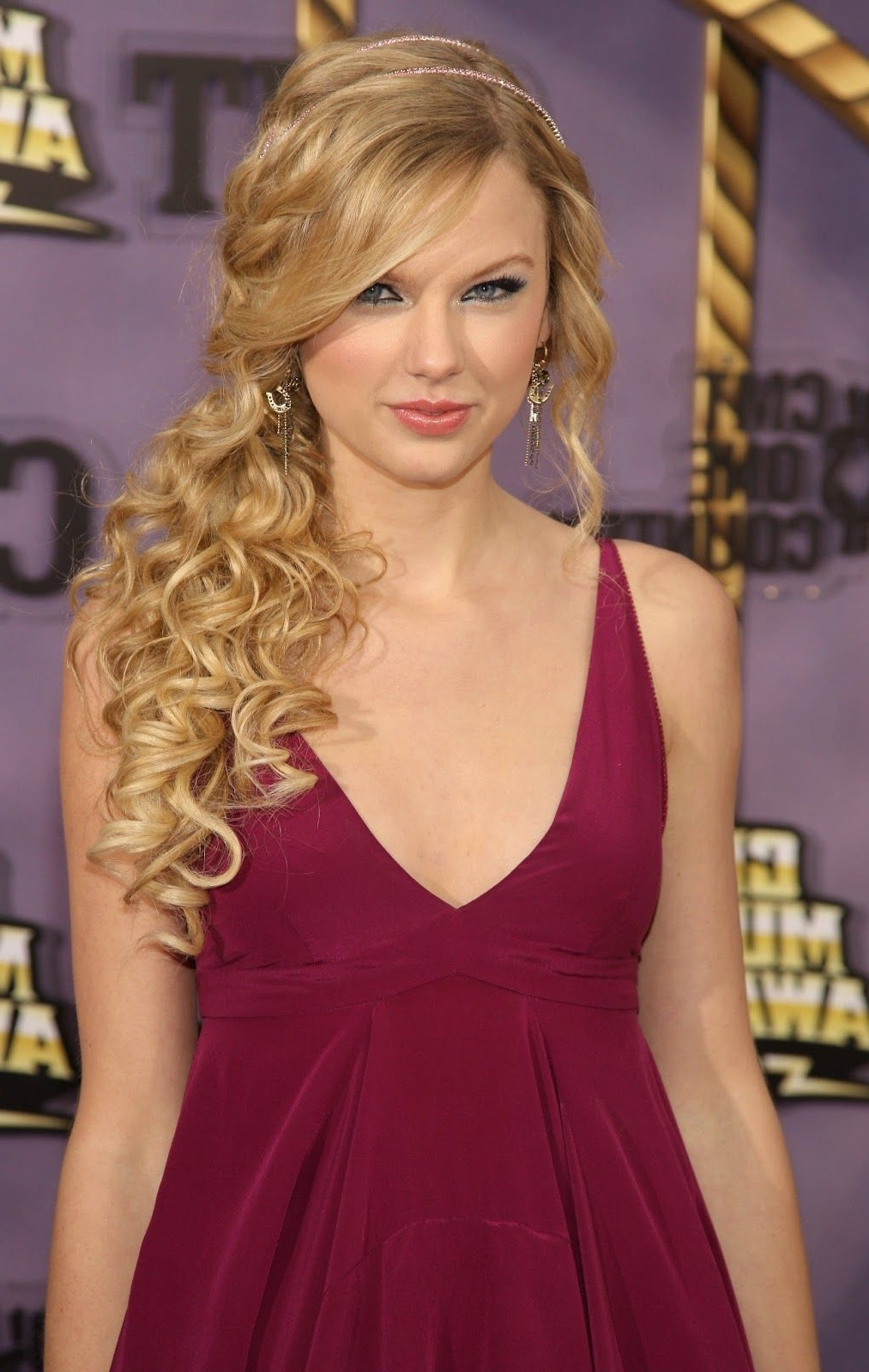 Cute Hairstyles For Prom Inspiredcelebrities : Modern Inside Newest Asymmetrical Curly Ponytail Hairstyles (View 7 of 20)