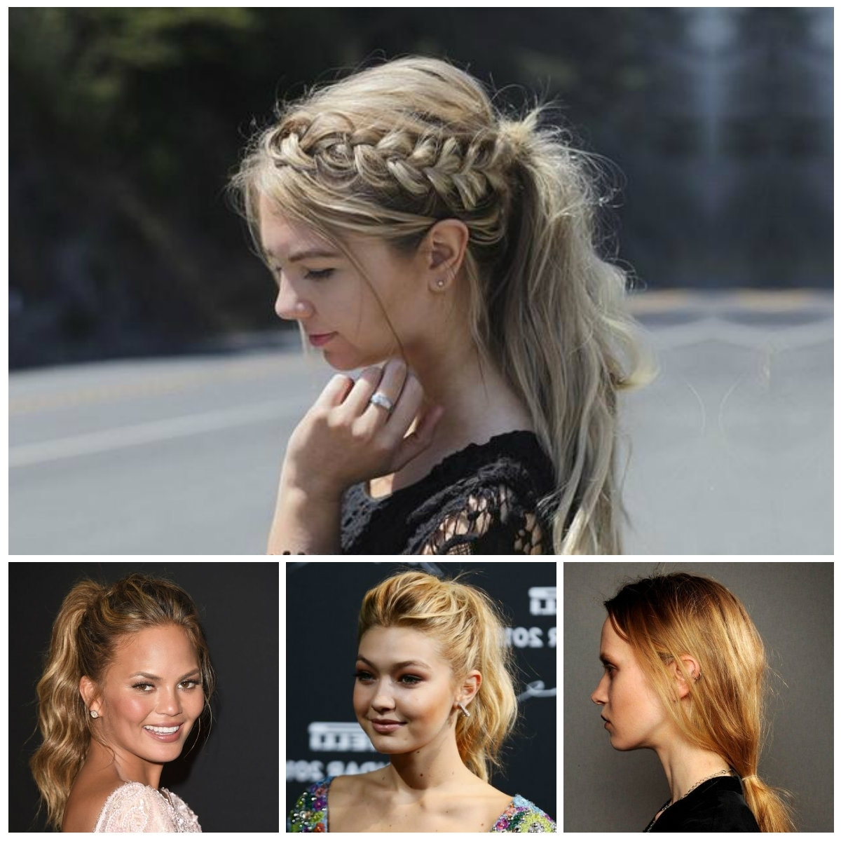 Cutest Messy Ponytail Hairstyles – New Hairstyles 2017 For Long With Preferred Messy And Teased Gray Pony Hairstyles (View 11 of 20)