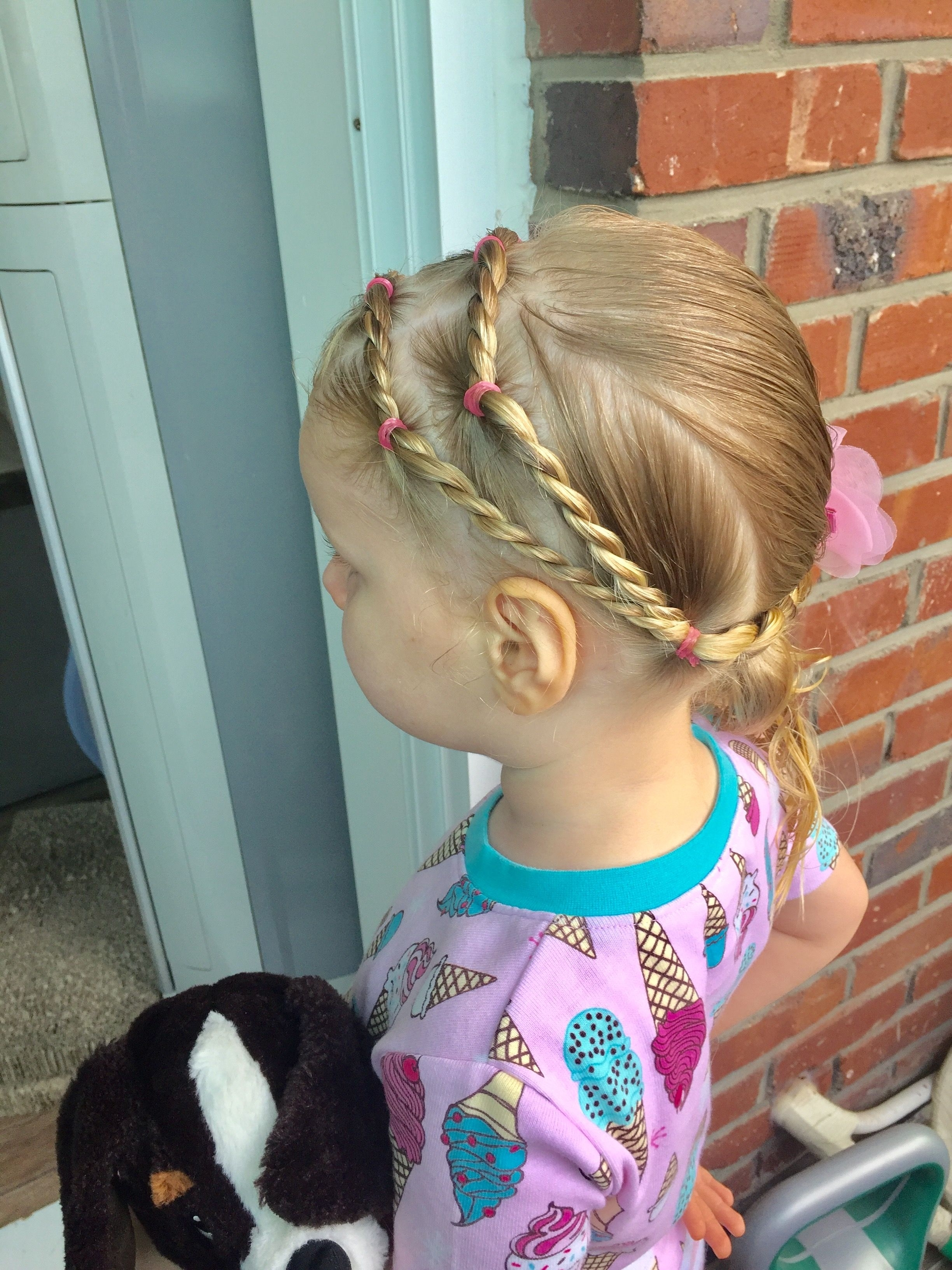 Day 30 Style: Double Rope Twist Headband Into Low Side Ponytail In Trendy Braided Headband And Twisted Side Pony Hairstyles (Gallery 20 of 20)