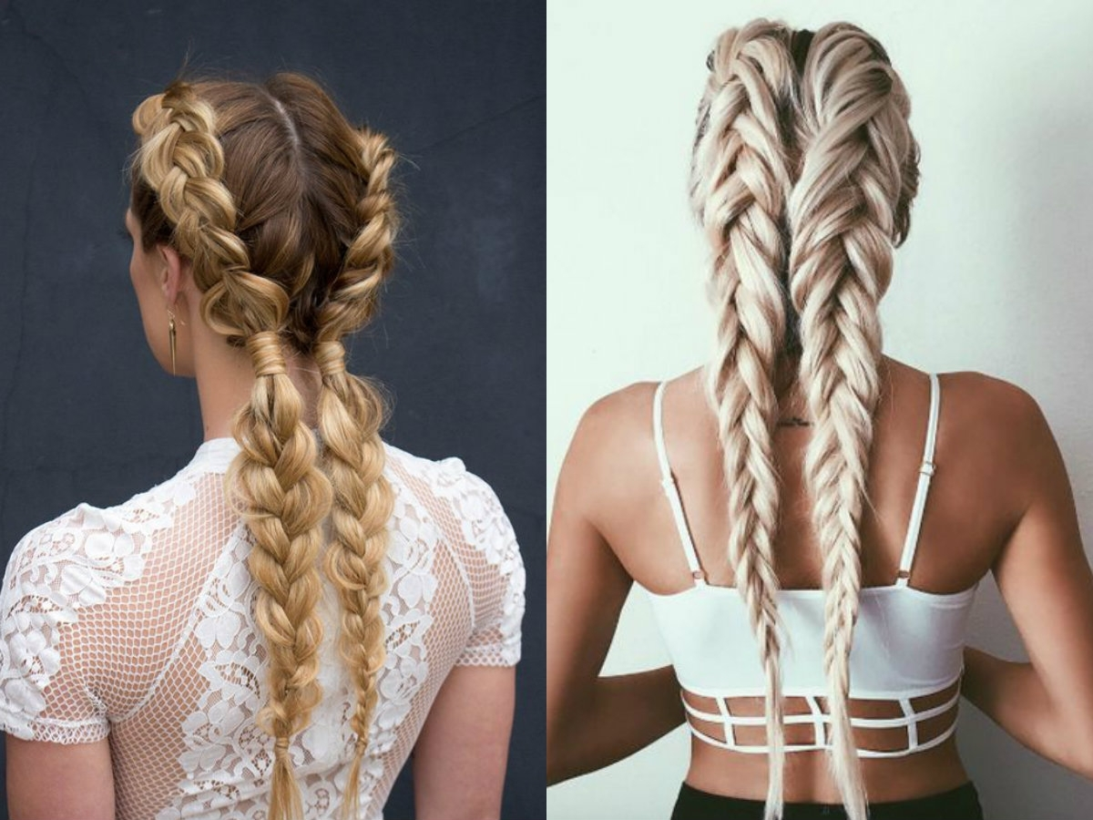 Dutch Braids Hairstyles Ideas To Inject You Some Romance Pertaining To Best And Newest Messy Dutch Braid Ponytail Hairstyles (View 10 of 20)