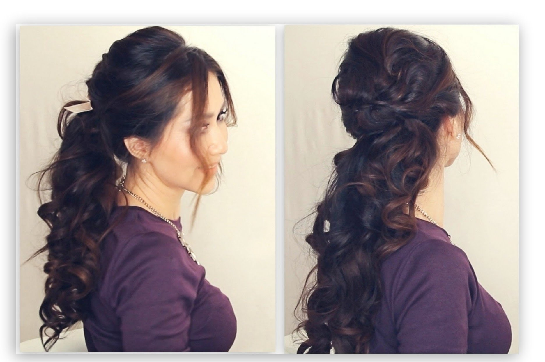 ☆ Easy Half Up Half Down Hairstyle Tutorial (Gallery 12 of 20)