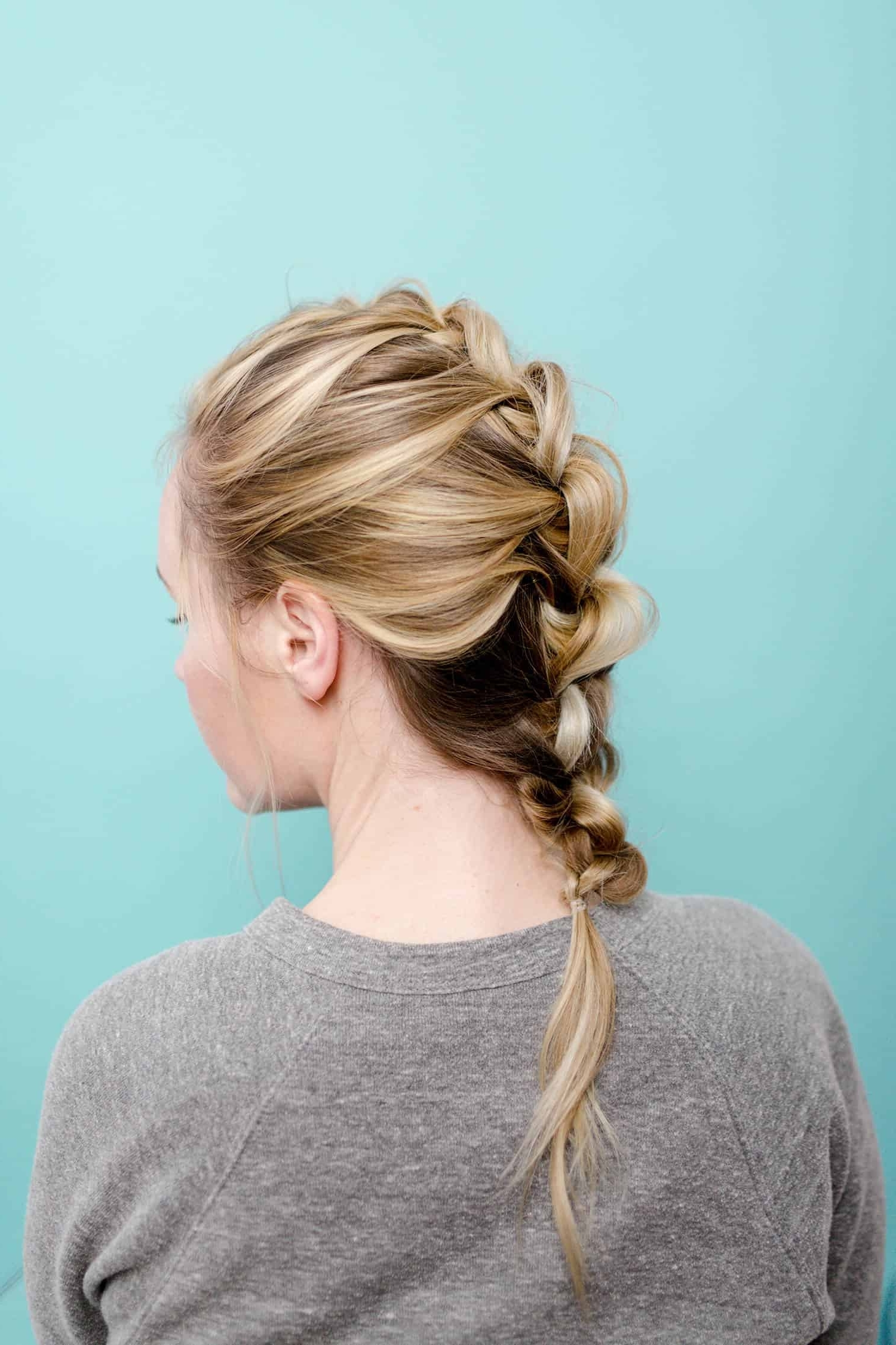 Easy (Wonder Woman Inspired) Knotted Braid – A Beautiful Mess With Regard To Recent Braided And Knotted Ponytail Hairstyles (Gallery 17 of 20)