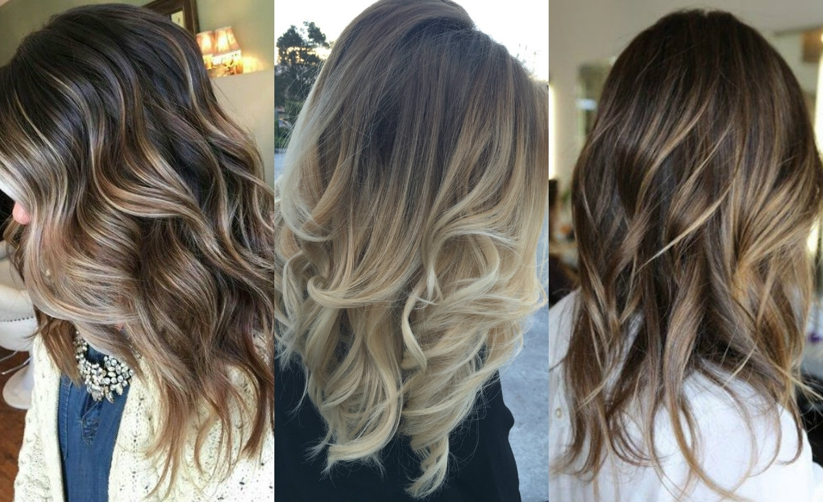 Fabulous Dark Hair With Blonde Highlights  (View 5 of 20)