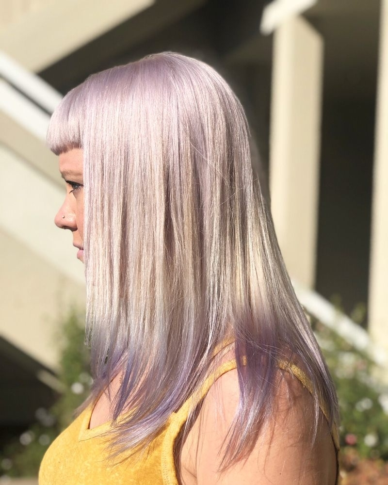 Famous Blonde Bob Hairstyles With Lavender Tint With Platinum Blonde With A Lavender Tint! – Yelp (View 14 of 20)