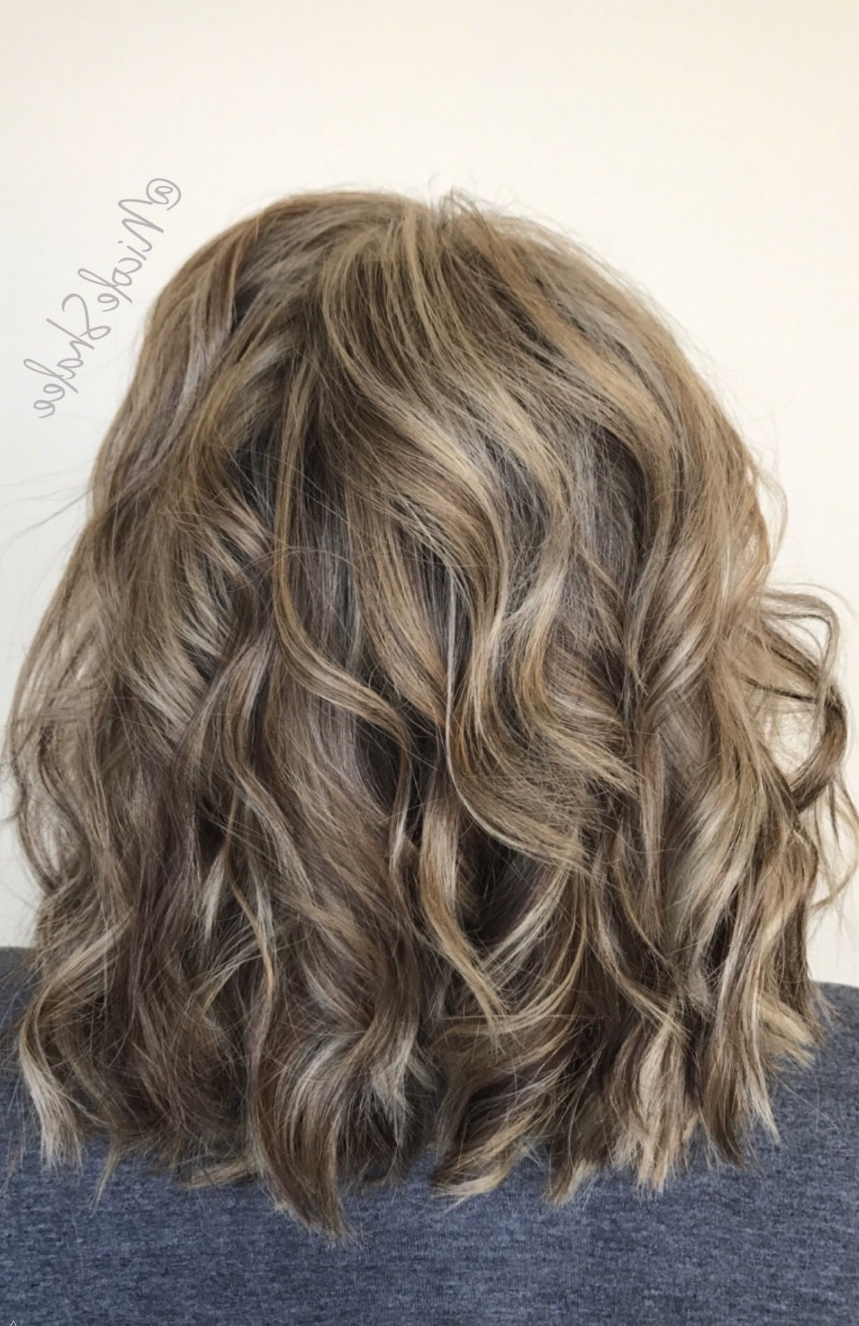 Famous Bronde Beach Waves Blonde Hairstyles Throughout Lob, Long Bob, Beach Waves, Bronde Hair, Sandy Brown Hair, Sandy (View 4 of 20)