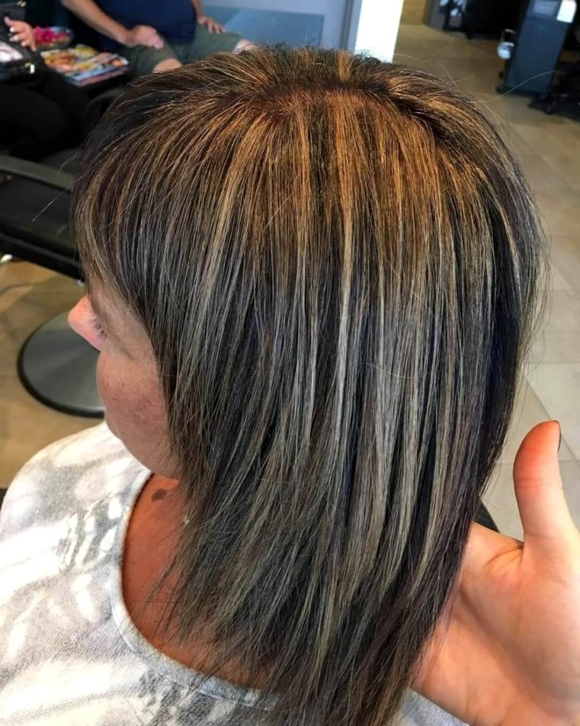 Famous Contrasting Highlights Blonde Hairstyles With Golden Blonde Highlights On Dark Brown Hair – Curlyhairstyles (View 11 of 20)
